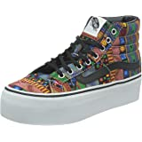 Vans Sk8-Hi Platform Geo Tribe damen canvas sneaker high