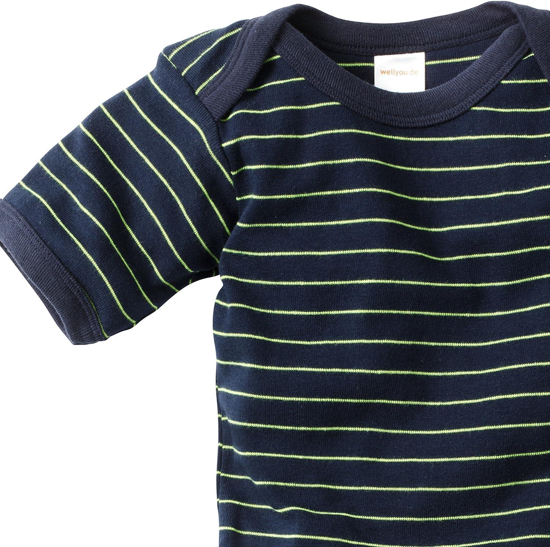 wellyou Polo-Shirt Kurzarm Marine Kinder