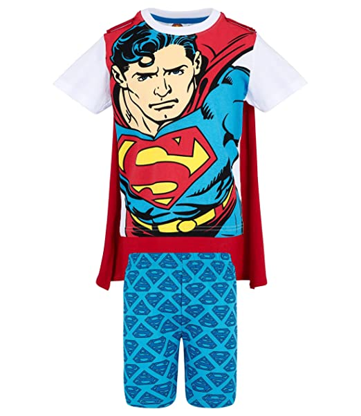 Superman Chicos Pijama mangas cortas - Blanco - 104