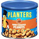 Planters Peanuts, Honey Roasted , 12 Ounce Canister