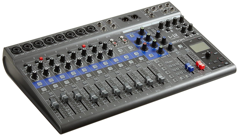 Zoom L-12/IF Mezclas Digital 12 canales: Amazon.es: Instrumentos ...