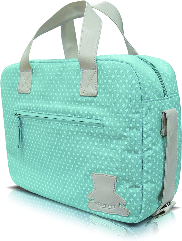 Mustela - Bolsa primeros productos Bebe, Color Azul: Amazon.es: Belleza