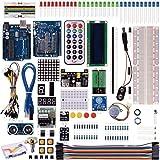 Kuman 40 in 1 Arduino用キット 初心者 アルドゥイーノメガ UNO R3対応互換ボード プロジェクタキット 基本セット 日本語マニュアル K4