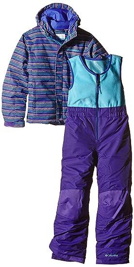 Columbia para Traje de Juego Buga, otoño/Invierno, Infantil, Color Morado - Hyper Purple Stripe, tamaño 6/12: Amazon.es: Deportes y aire libre