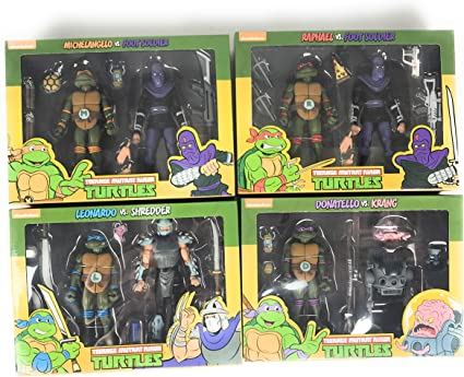 NECA Teenage Mutant Ninja Turtles Target Exclusive Bundle