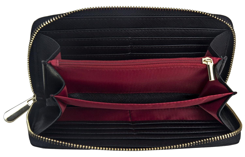 d6f023ab749fd TRAVANDO ® Portmonee Damen mit RFID Schutz Paris Geldbeutel ...