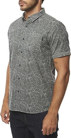 ONeill Mens Modern Fit Short Sleeve Button Down Shirt
