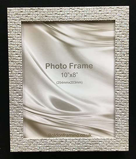 Mermaid Range Holographic Sparkle Glitter Effect Picture Photo Frame ...