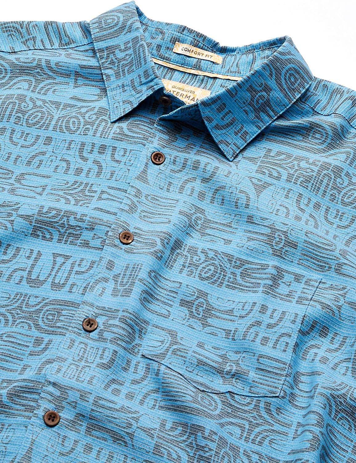 Quiksilver Mens Morea Myth Button Down Shirt