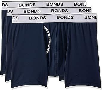 Bonds Men's Microfibre Guyfront Mid Trunk, Captain McCool