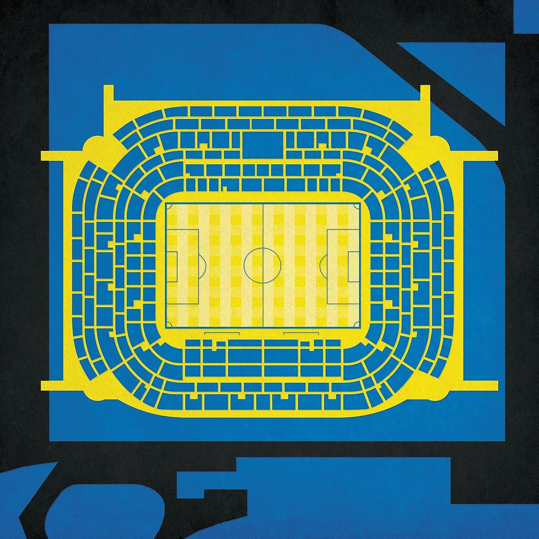 San Siro Stadiumマップアート 30