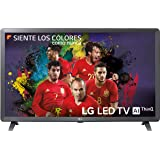 "LG 32LK6100PLB - Smart TV de 32"" (LED, Full HD, Inteligencia Artificial, Quad Core, 3 x HDR, Wi-Fi), Color Negro"