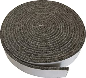 """KAMaster High Temp Grill Gasket Replacement Fit Primo Kamado Grill BBQ Smoker Gasket Pre-Shrunk Primo Accessories Self Stick Felt 14ft Long, 3/4"""" Wide, 1/8"""" Thick"""