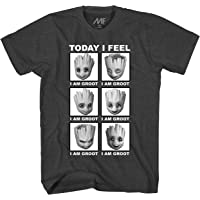 Marvel Men's Guardians of The Galaxy Groot Today I Feel Adult T-Shirt Tee