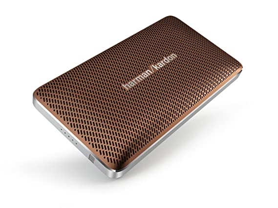 Harman Kardon Esquire Mini Portable Wireless Speaker (Brown) Multimedia Speaker Systems at amazon