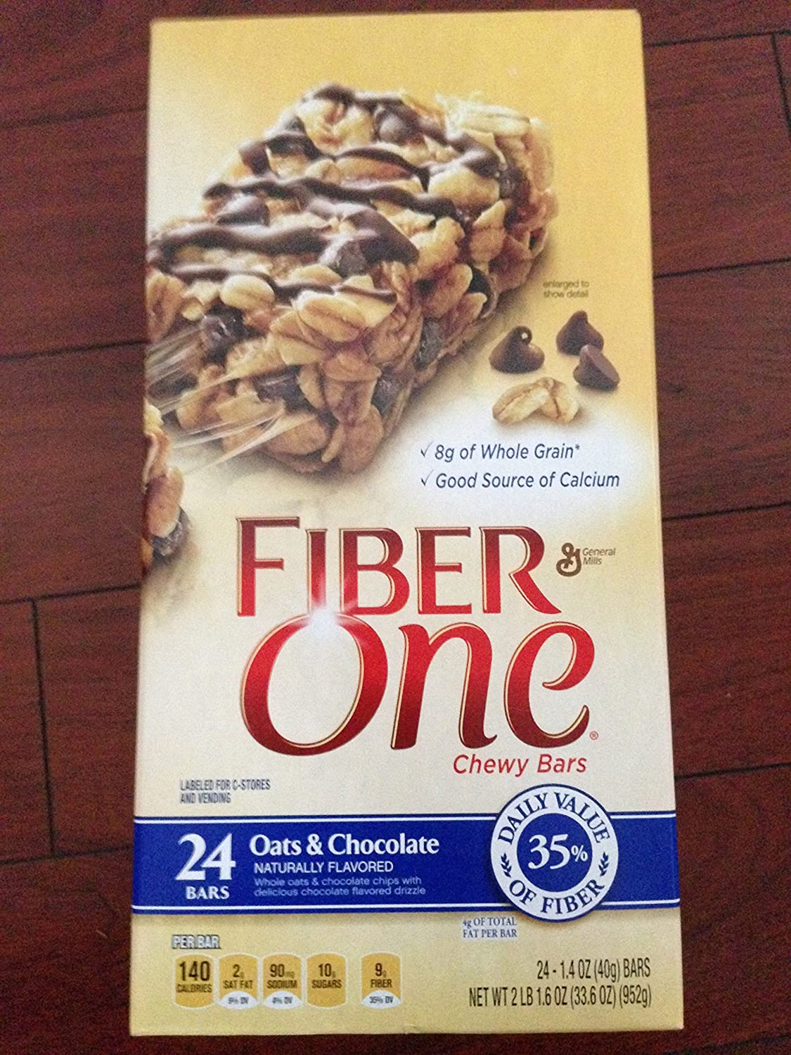 Fiber One Oats And Chocolate Bar Review