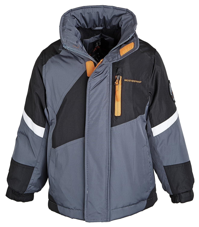 Weatherproof Little Boys Down Alternative Winter Puffer Jacket Coat with Hood