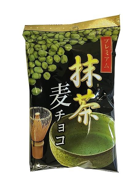 寺沢製菓 プレミアム麦チョコ抹茶 80g×5袋