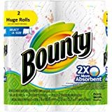 Bounty Select-a-Size Paper Towels, Printed, 167 2-PLY, 2 Huge Roll,…
