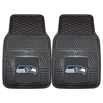 Fanmats 8904 NFL Seattle Seahawks Vinyl Heavy Duty Car Mats: Automotive