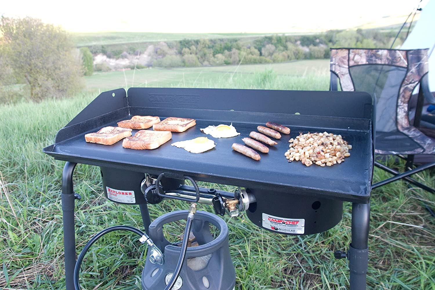 Amazon.com: Camp Chef Professional Griddle: Garden & Outdoor
