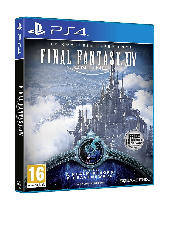 Final Fantasy XIV: Online (PS4): Amazon co uk: PC & Video Games