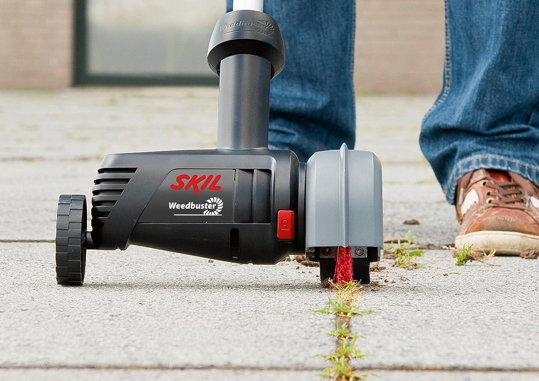Skil 0700AA Weedbuster D/ésherbeur /électrique avec Brosse Nettoyage 500W, fonction T/él/éscopique, Easy Storage