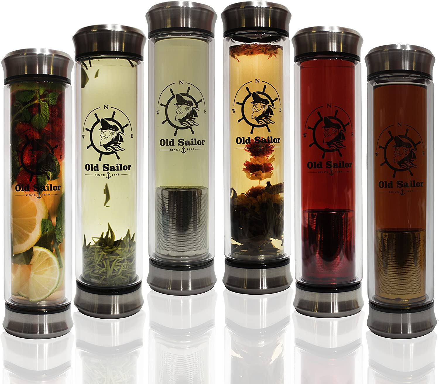 Cup Tumbler With Filter, Tea Filters Infuser /& Cold Brew Coffee Maker//Bottle