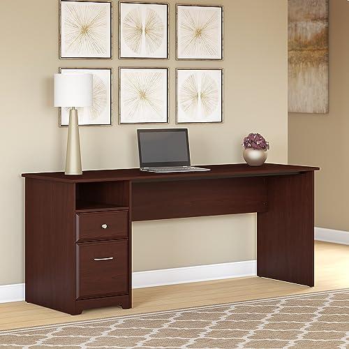 Cheap Bush Furniture Cabot 72W Computer Desk home office desk for sale