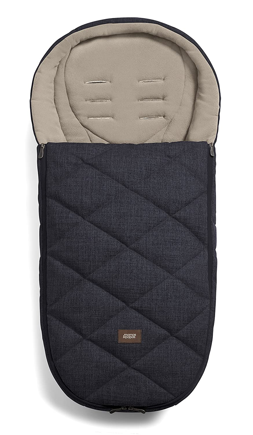 Mamas & Papas Cold Weather Plus Footmuff (Chestnut) 1277T1400