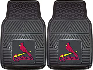 "product image for FANMATS MLB St Louis Cardinals Vinyl Heavy Duty Car Mat , 18""x27"" - 8781"