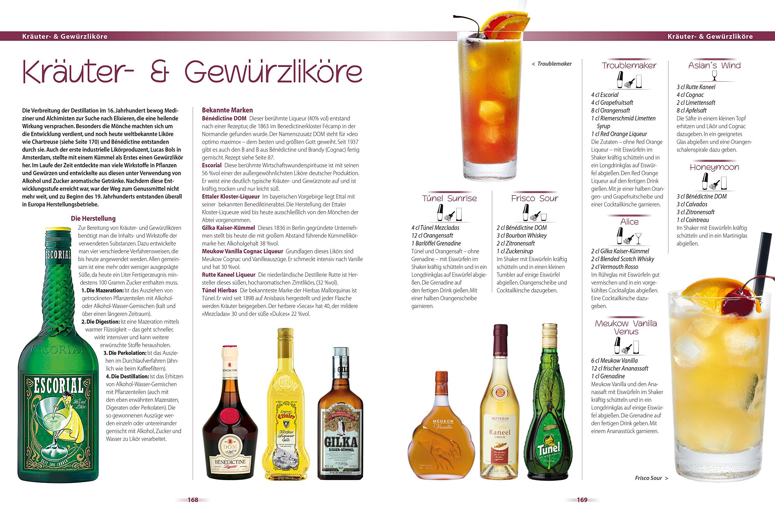 Cocktails: Über 1000 Drinks mit und ohne Alkohol: Amazon.de: Franz ...