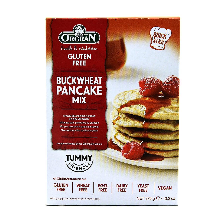 Orgran Buckwheat Pancake Mix en Caja - 375 gr: Amazon.es ...