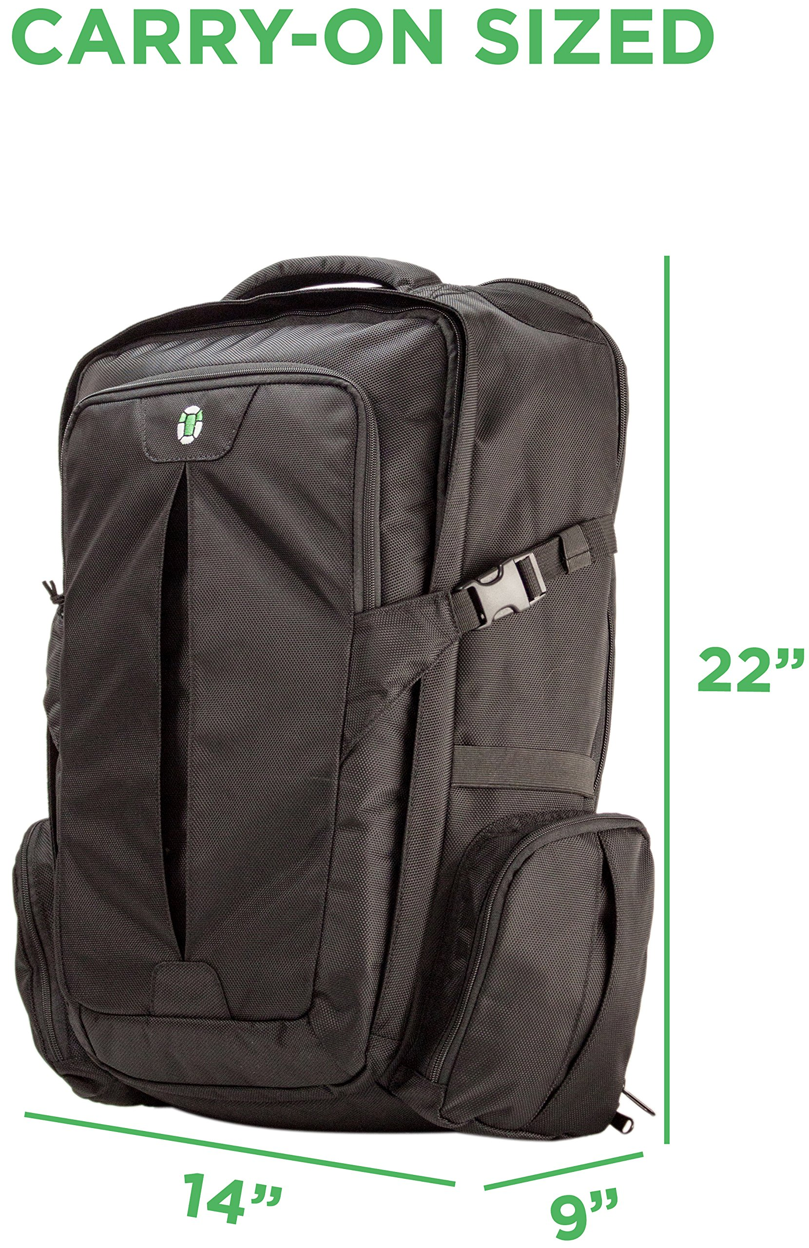 Tortuga Travel Backpack - 44L Maximum-Sized Carry On Travel Backpack by Tortuga (Image #2)