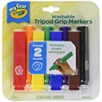 Deals on 8-Count Crayola My First Tripod Grip Washable Markers