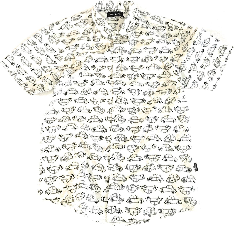 TRANKILO Camisa VW Escarabajo Blanco. (L): Amazon.es: Ropa y accesorios