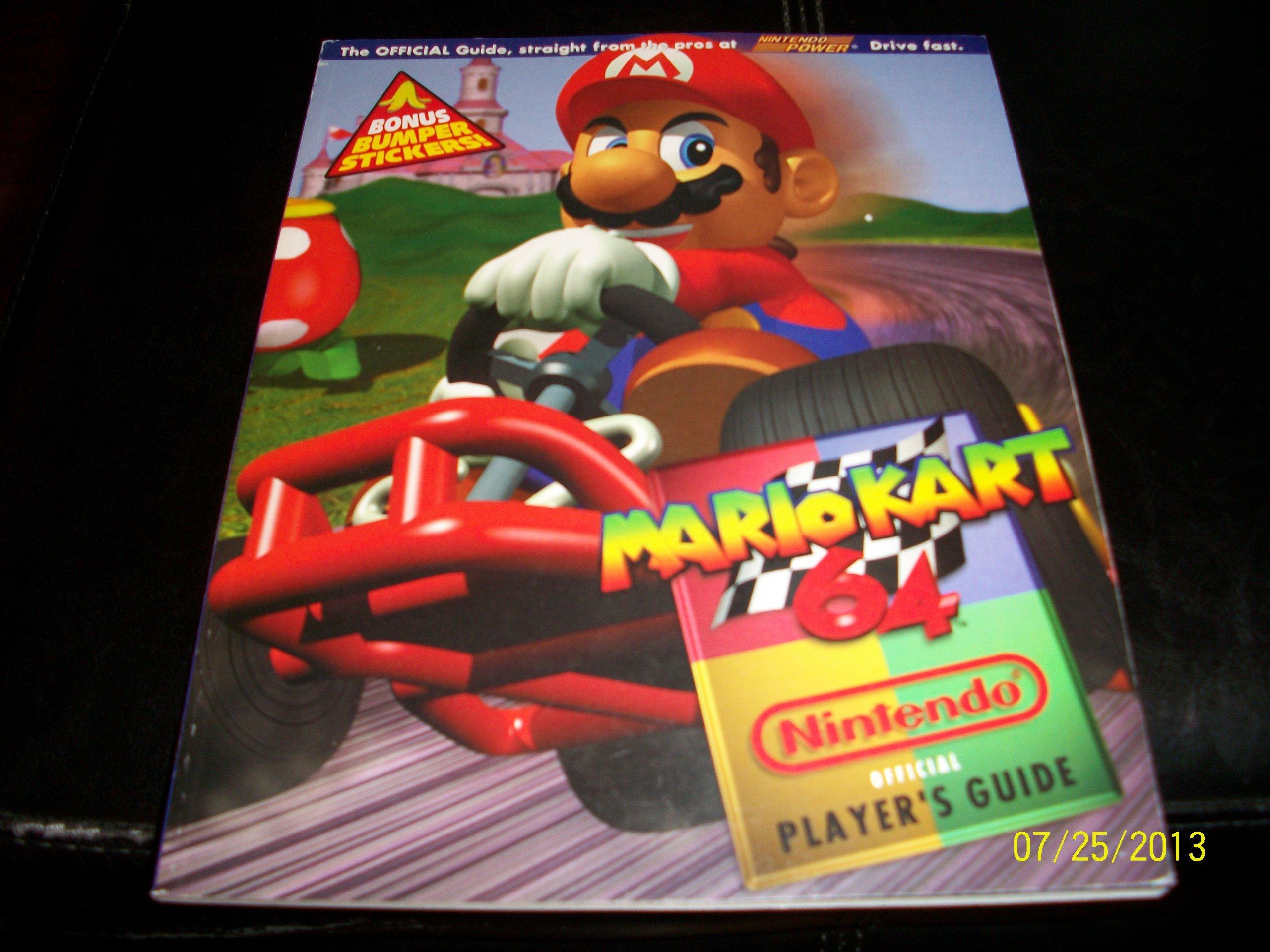 The Official Mario Kart 64 Nintendo Player S Guide Amazon Com Books