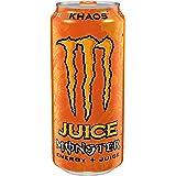 Juice Monster Energy, Khaos, 16 Ounce (Pack of 24)
