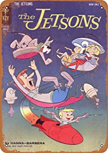 Tamengi 8''x12''Metal Sign 1962 The Jetsons Comic Vintage Look Made in USA