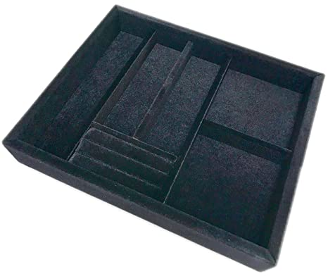 Buy JEWELRY TRAY Small Jewelry Organizer Black 5 Pound Online at