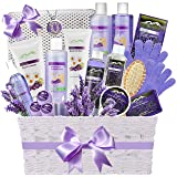 Premium Deluxe Bath & Body Gift Basket. Ultimate Large Natural Spa Basket! #1 Spa Gift Basket for Women - Aromatherapy…