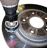 "Performance Tool W80629 2-1/2"" Brake Rotor Hone 120 Grit Flexible Ball Stones, 1 Pack"