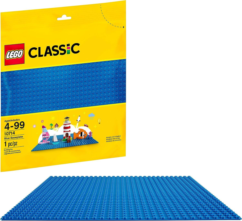 Lego 2x Plaque Plate 1x10 10x1 bleu foncé//dark blue 4477 NEUF