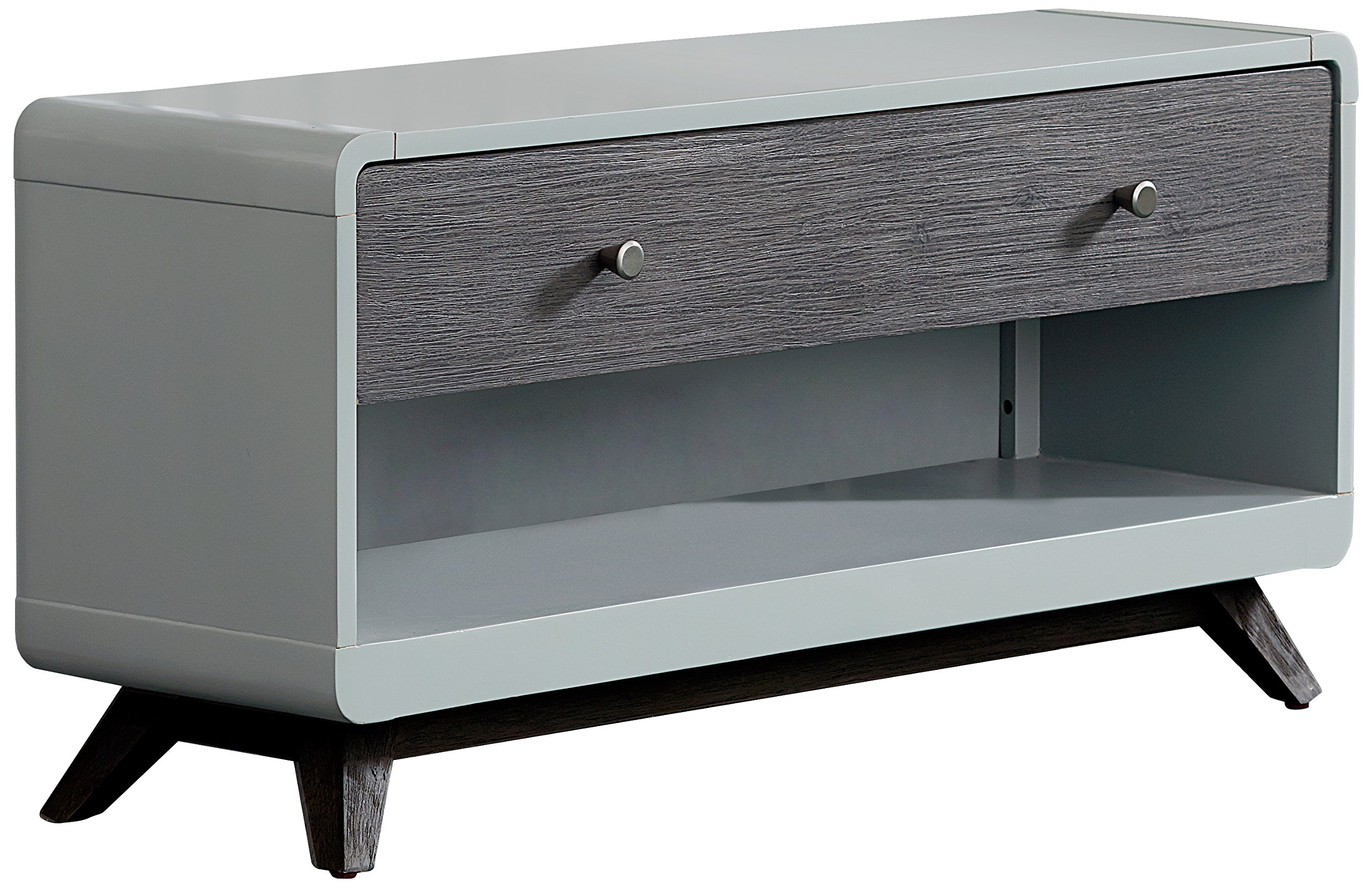 Hillsdale Kids and Teens 7101-775 Dressing Bench, Gray
