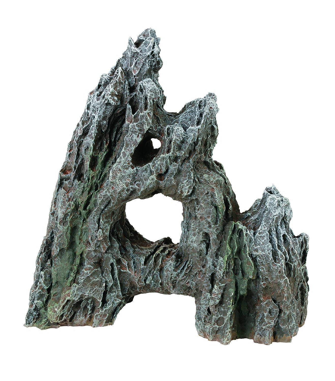 Marina aufrecht stehender Felsen super-groß ca. 23 x 11 x 23 cm