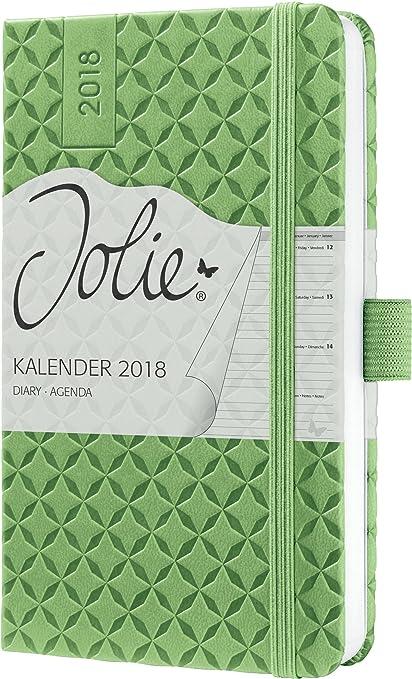Sigel J8112 - Agenda semanal 2018, color verde