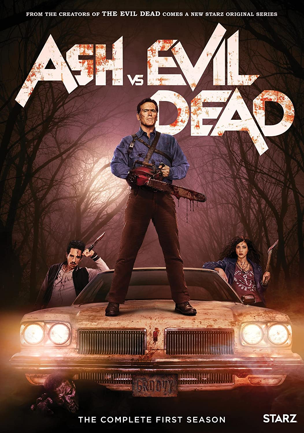 Amazon Com Ash Vs Evil Dead The Complete First Season Bruce Campbell Lucy Lawless Jill Marie Jones Ray Santiago Not Available Movies Tv