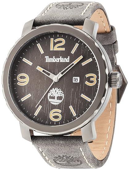 Timberland Reloj Analogico para Hombre de Cuarzo con Correa en Piel TBL.14399XSU/13