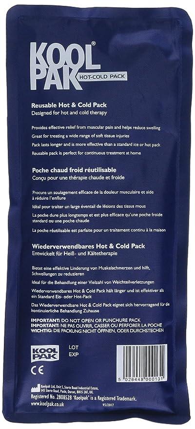 Koolpak – reutilizable caliente y frío paquete de Gel, pack de 3