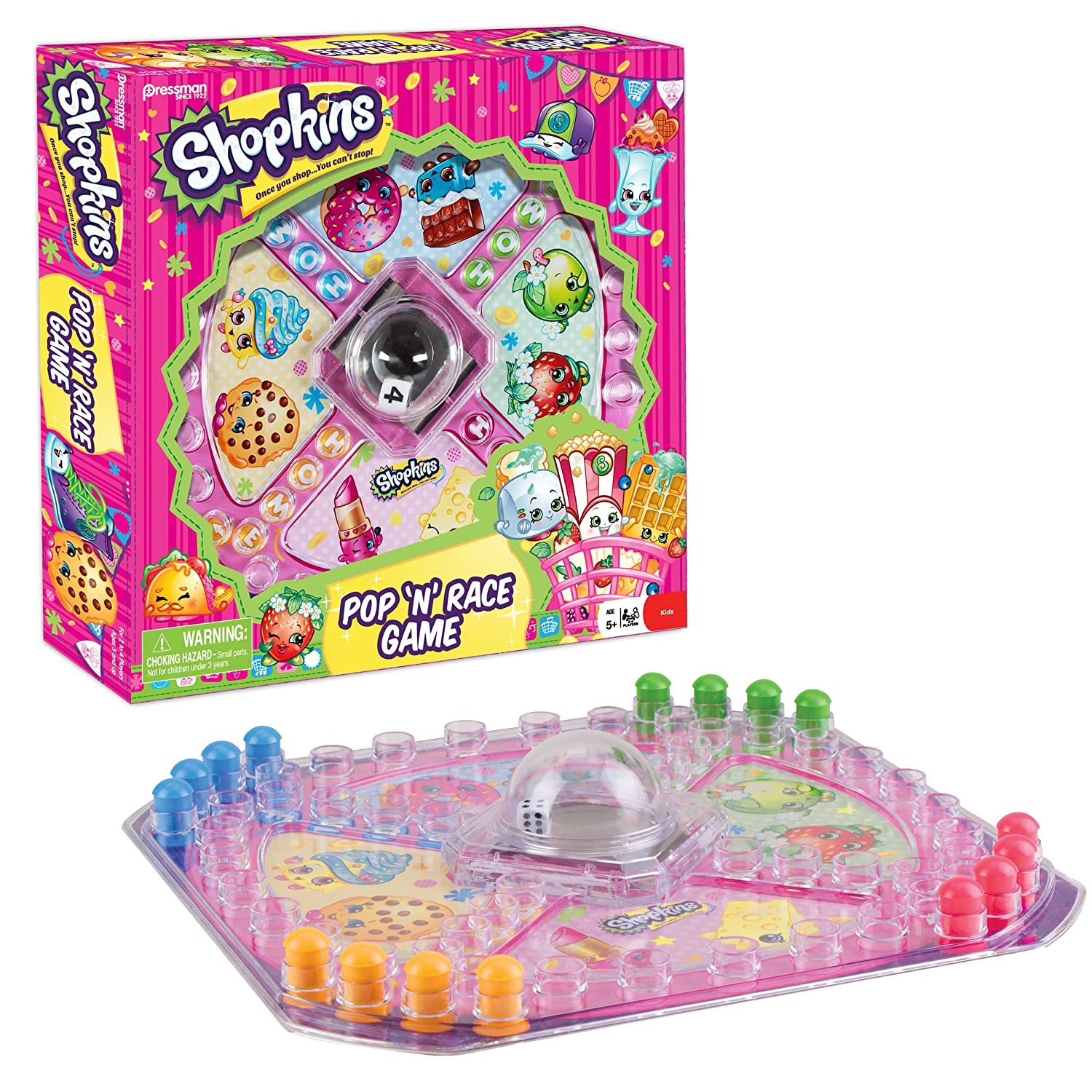 Shopkins Pop 'N Race Game ONLY...